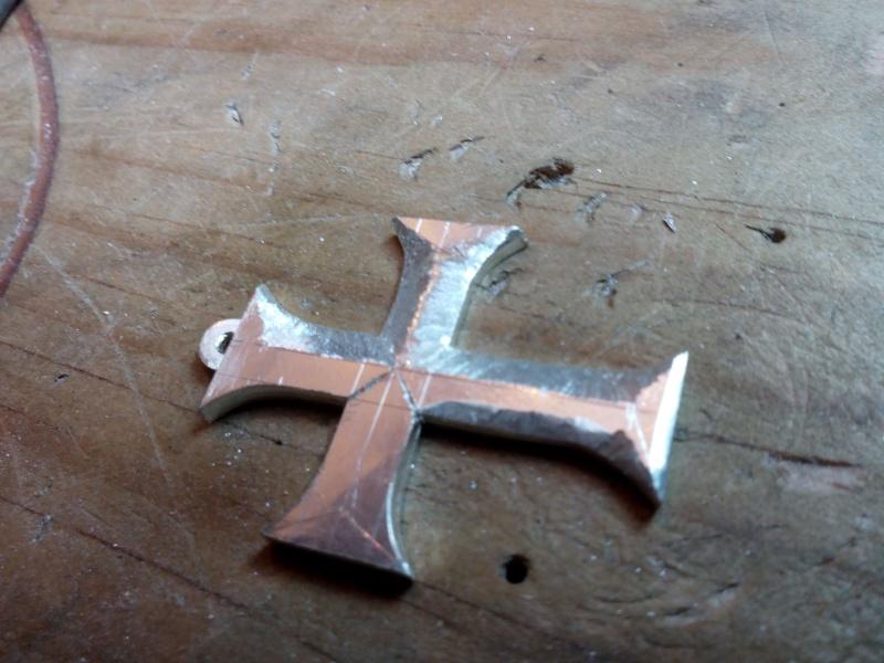 Pendentif croix d'esculape argent Img_2012