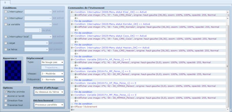 Chapitre 4 - Le menu statut 02_aff11