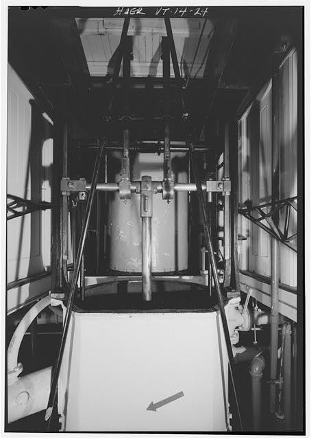 machinerie pour bateau à roues à aubes 05011910