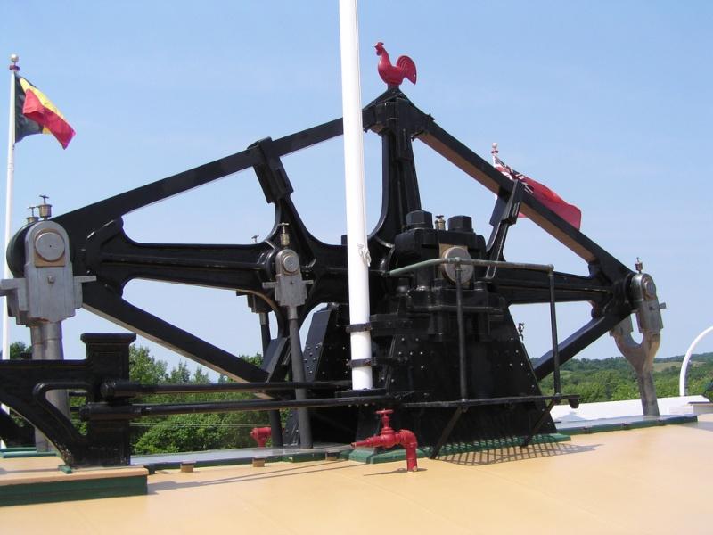 machinerie pour bateau à roues à aubes 19412011