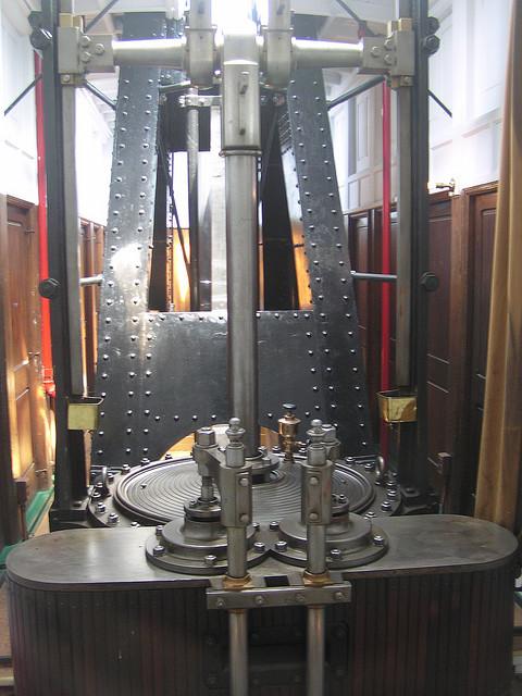 machinerie pour bateau à roues à aubes 19412012
