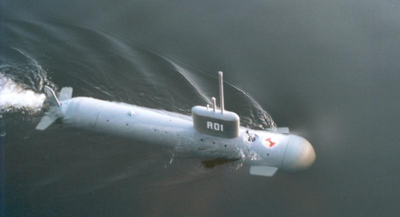 """Un sous-marin """"de 4 sous"""" A01a12"""