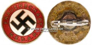 Badge NSDAP FRAUENSCHAFT Rare ? Dimens14