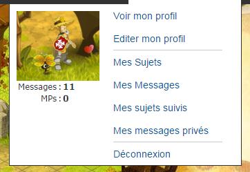 Changer d'avatar sur le forum ? Simple ! Change10