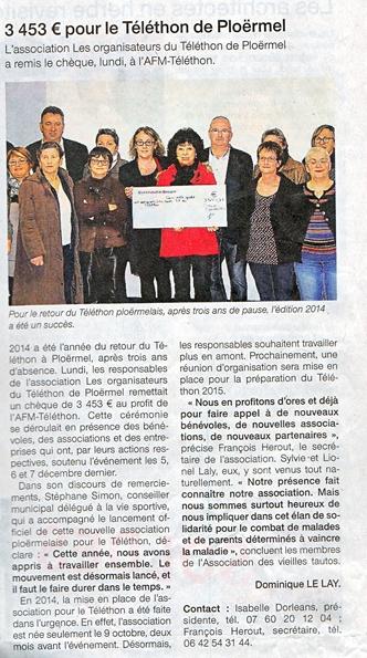LA PRESSE DEBUT 2015 ET LE LANCEMENT DE L'ANNEE 2015 Ouest_12