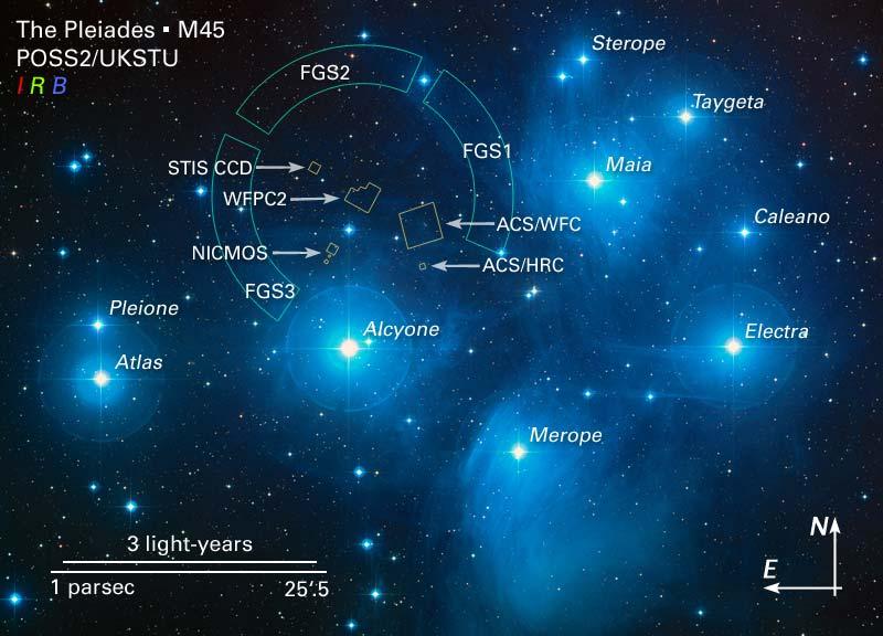 Personne la tête dans les étoiles? - Page 2 M45map10
