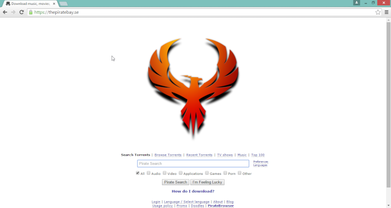 Pirate Bay Down for Good? 2015-014
