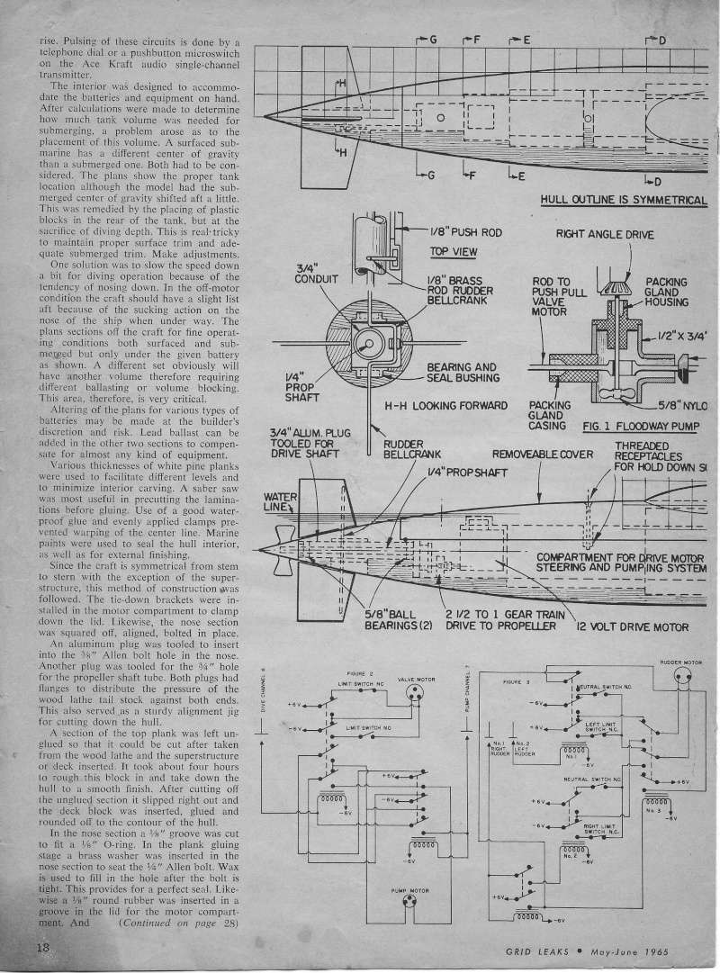 George Washington Article/plan Gl410