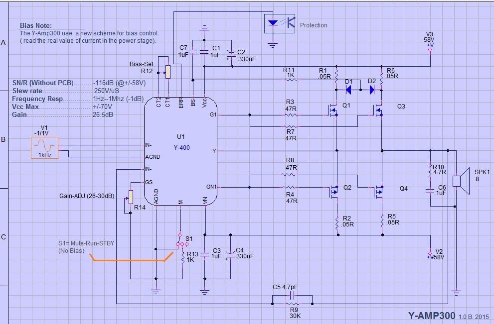 HYbride pour professional AB class ? Y-amp-10