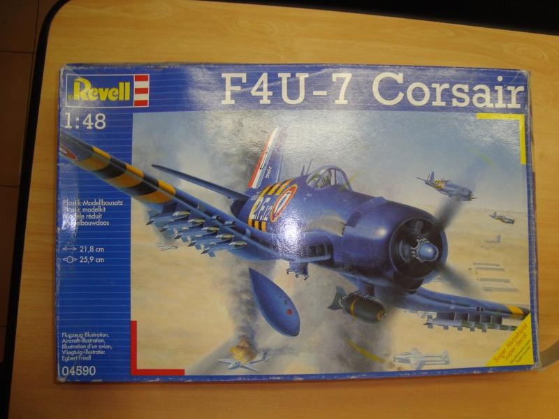 F4U-7 CORSAIR 1/48°  Enfin terminé!!! Dsc01410