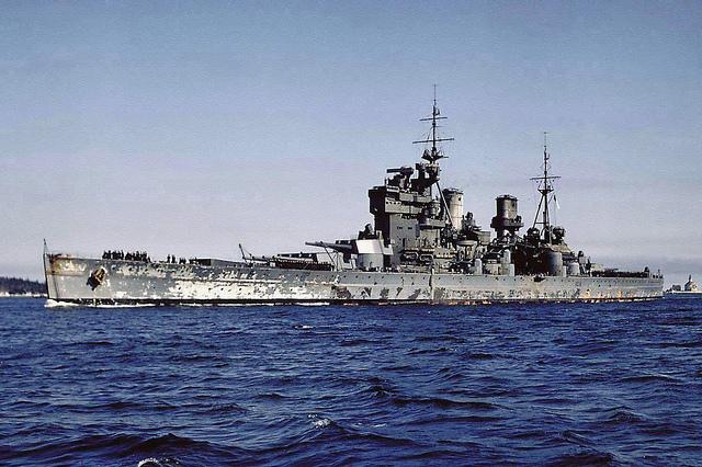 King George V par Guerres&Mers au 1/700 Tamiya Kgv110