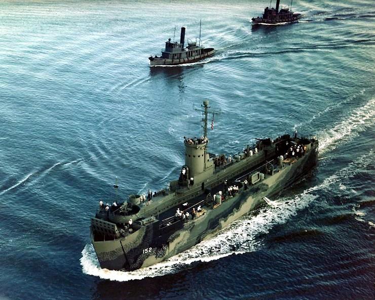 U.S. Navy Landing Ship Médium (Early) au 1/144 de Revell par Pascal 94 - Page 6 Uss_ls10