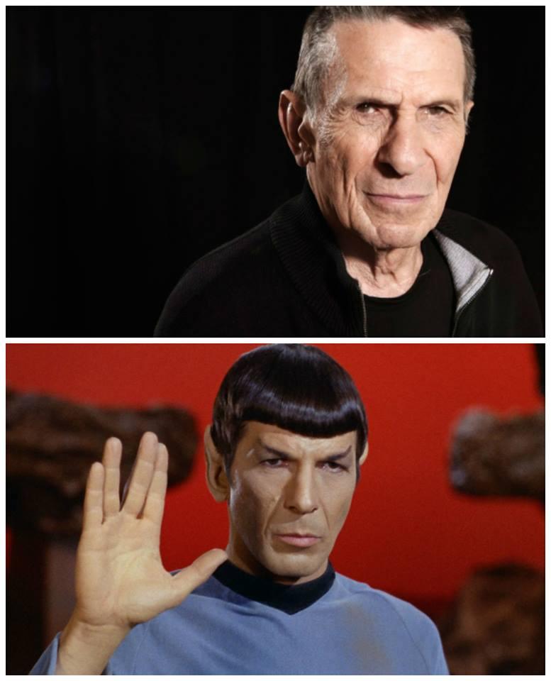RIP Leonard Nimoy (Mr Spock) Sh1219
