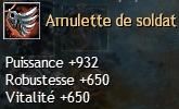 Guerrier Semi-Tank/Tank Amulet10