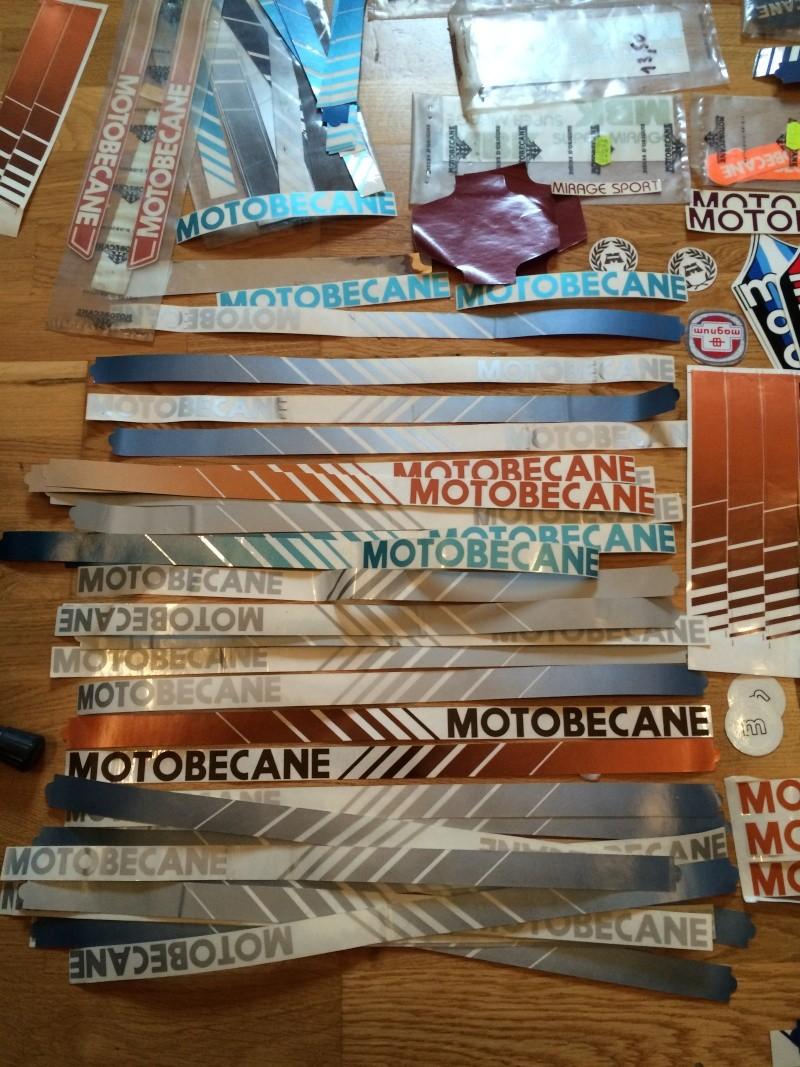 Autocollants Stickers Motobécane  Image210