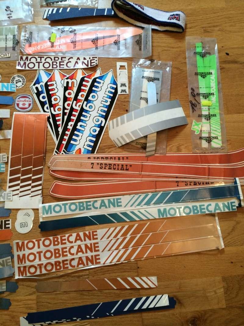 Autocollants Stickers Motobécane  Image310