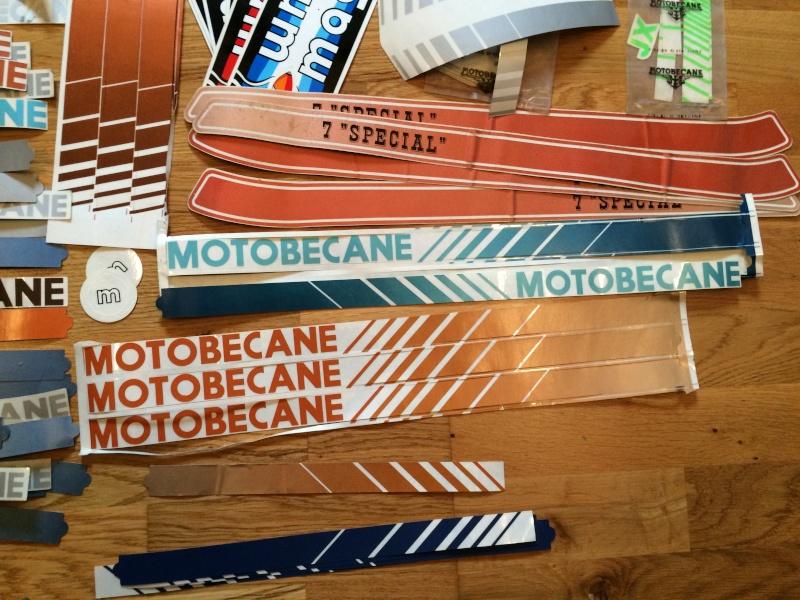 Autocollants Stickers Motobécane  Image610