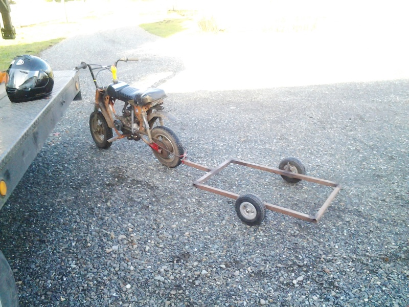 Sears Roebuck & Co. Puddle Jumper/ Orange Crush/ Steve Minibike 01161510