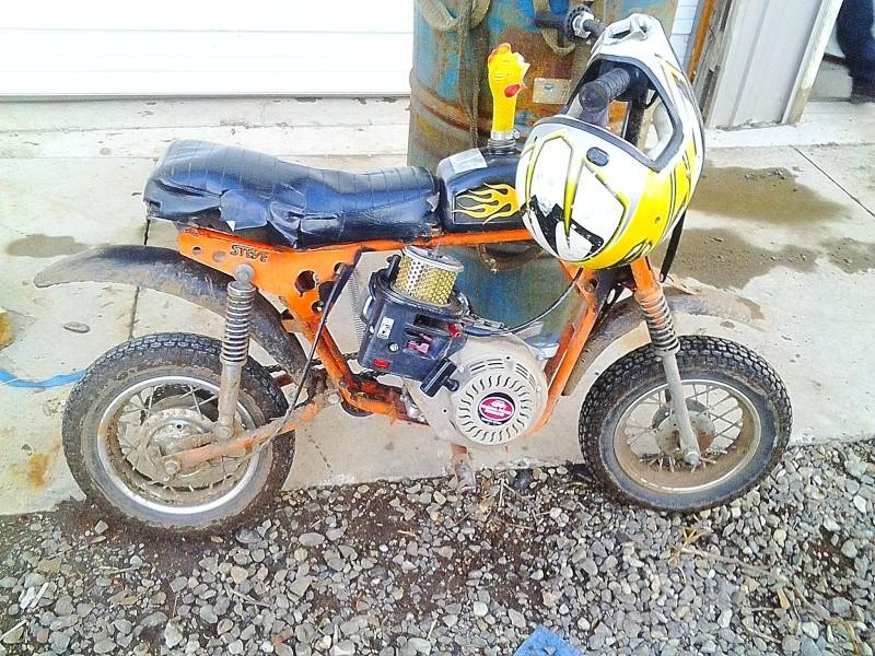 Sears Roebuck & Co. Puddle Jumper/ Orange Crush/ Steve Minibike Minibi10