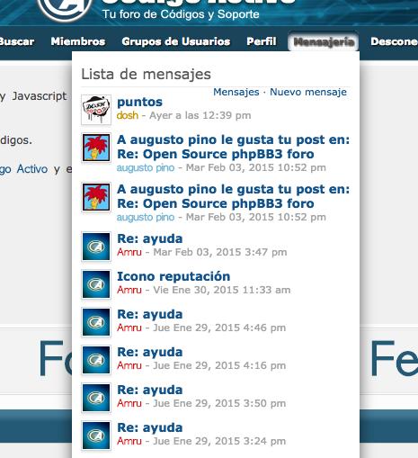 [Javascript] Lista de mensajes privados - Página 2 Captur21