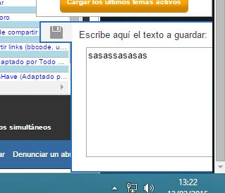 [widget]  Widget para guardar texto Screen13