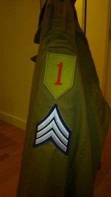 uniforme de la 1ère division d'infanterie US Dsc_0115
