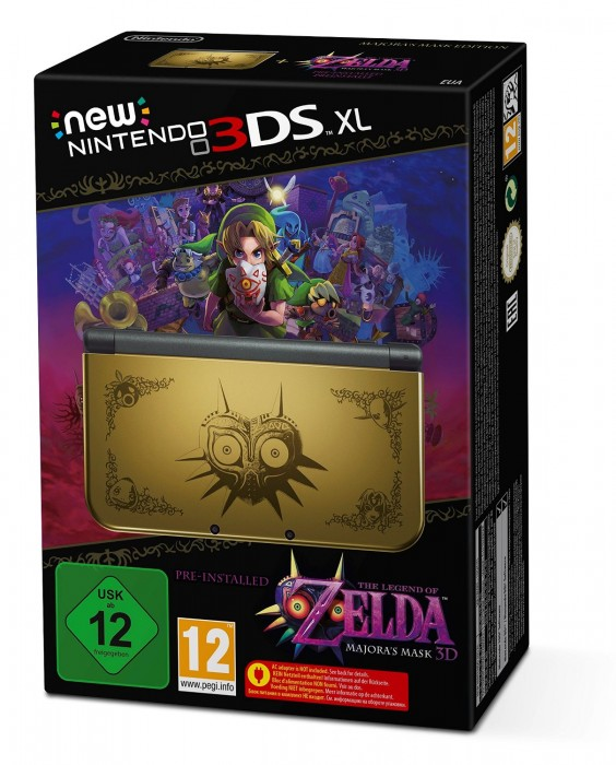 Collector console New 3DS XL zelda MM  New-ni10