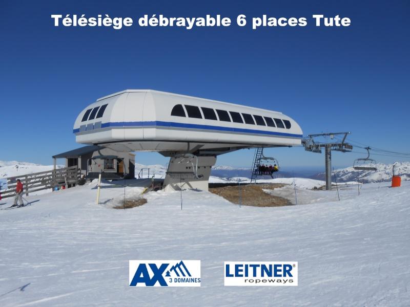 Télésiège débrayable 6 places (TSD6) Tute    Arrivy19
