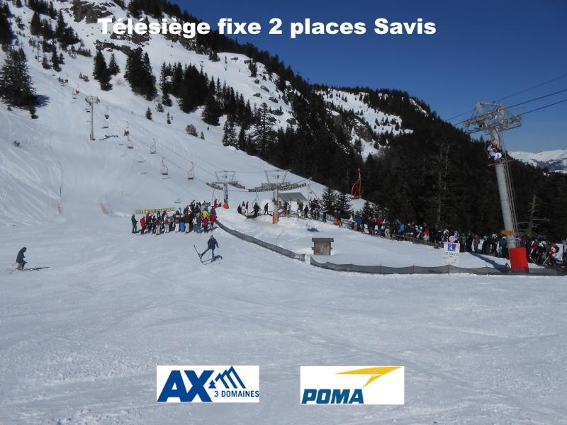 Télésiège fixe 2 places (TSF2) Savis G3-tsf10
