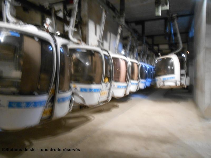 Télécabine débrayable 6 places (TCD6) Bonascre - Saquet  Garage10
