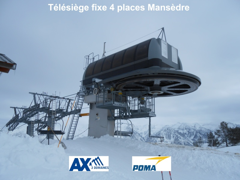 Télésiège fixe 4 places (TSF4) Mansèdre Mansyd10