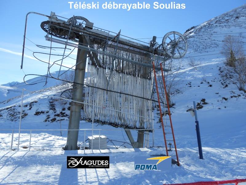 Téléski débrayable (TKD) Soulas Tk-sou11