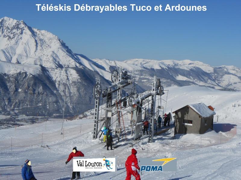 Téléskis débrayables Ardounes et Tuco Tk-tuc10
