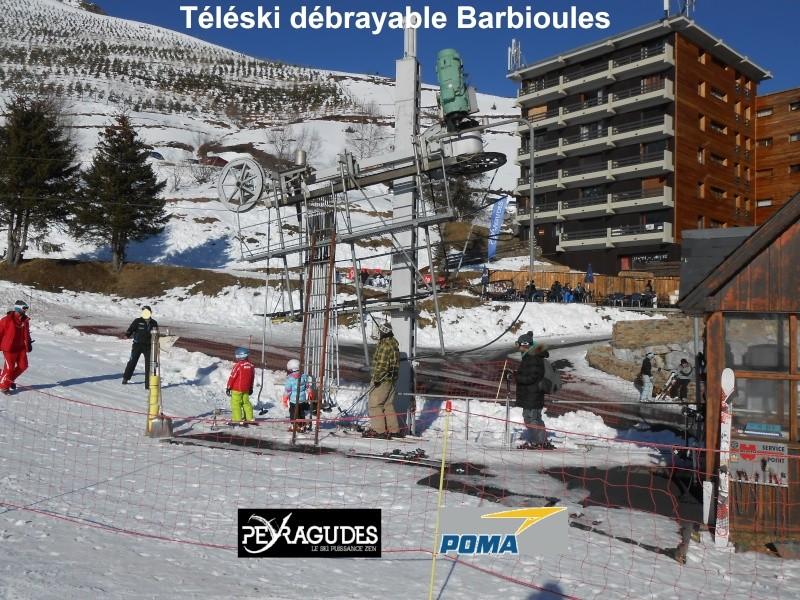Téléski débrayable (TKD) Barbioules Tkd-ba10