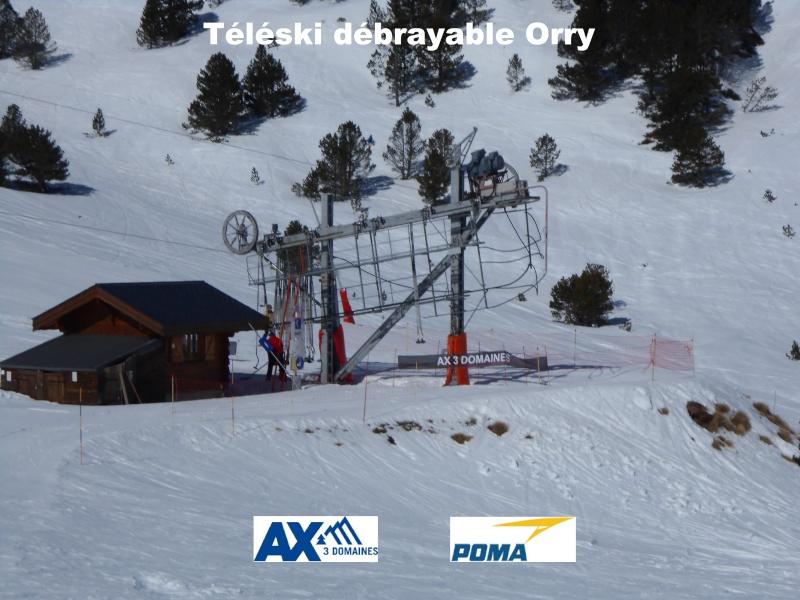 Téléski débrayable Orry     Tkd-or11