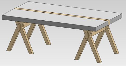 Table basse design à moins de 50€ Dessin10