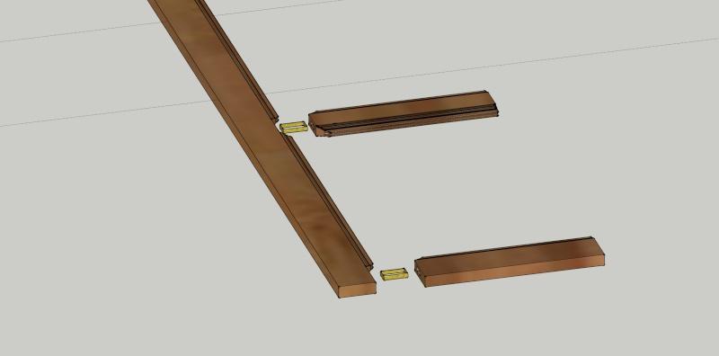Première réalisation : volets intérieurs en bois Assemb11