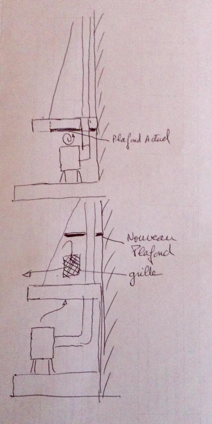 Pose d'un Pôle dans une cheminée existante. Fullsi11