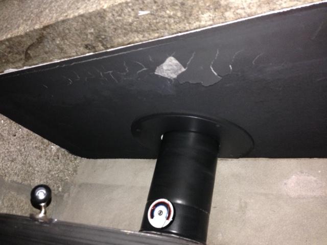 Pose d'un Pôle dans une cheminée existante. Img_3110