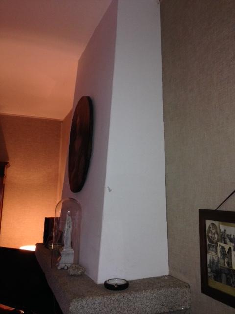 Pose d'un Pôle dans une cheminée existante. Img_3111