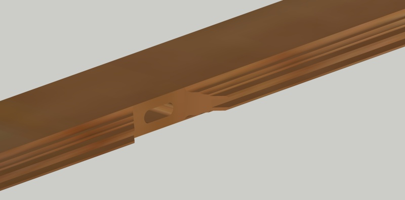 Première réalisation : volets intérieurs en bois Montan12