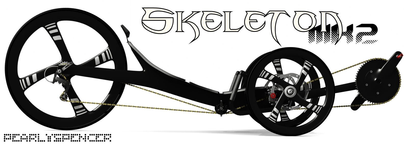 Carbon trike par Bacchetta - Page 2 Skelet12