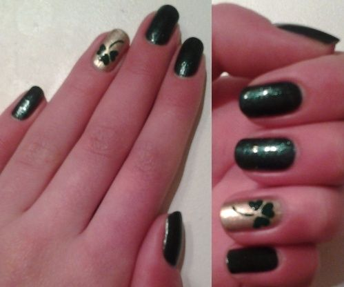 Nail-art : Saint Patrick Nail-a22