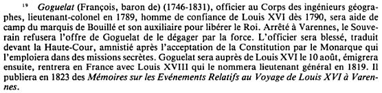 Le baron François de Goguelat, secrétaire de la reine Goguel10