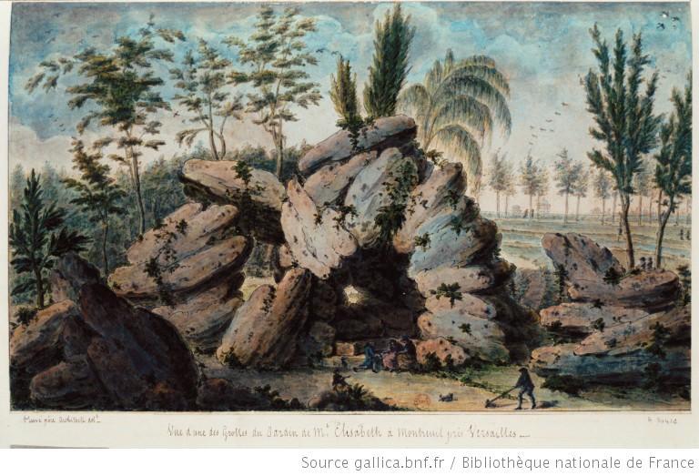 La comtesse Diane de Polignac  - Page 2 Grotte10