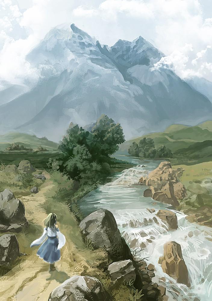 Nördlicher Flusslauf am Dorfrand Kochiy10