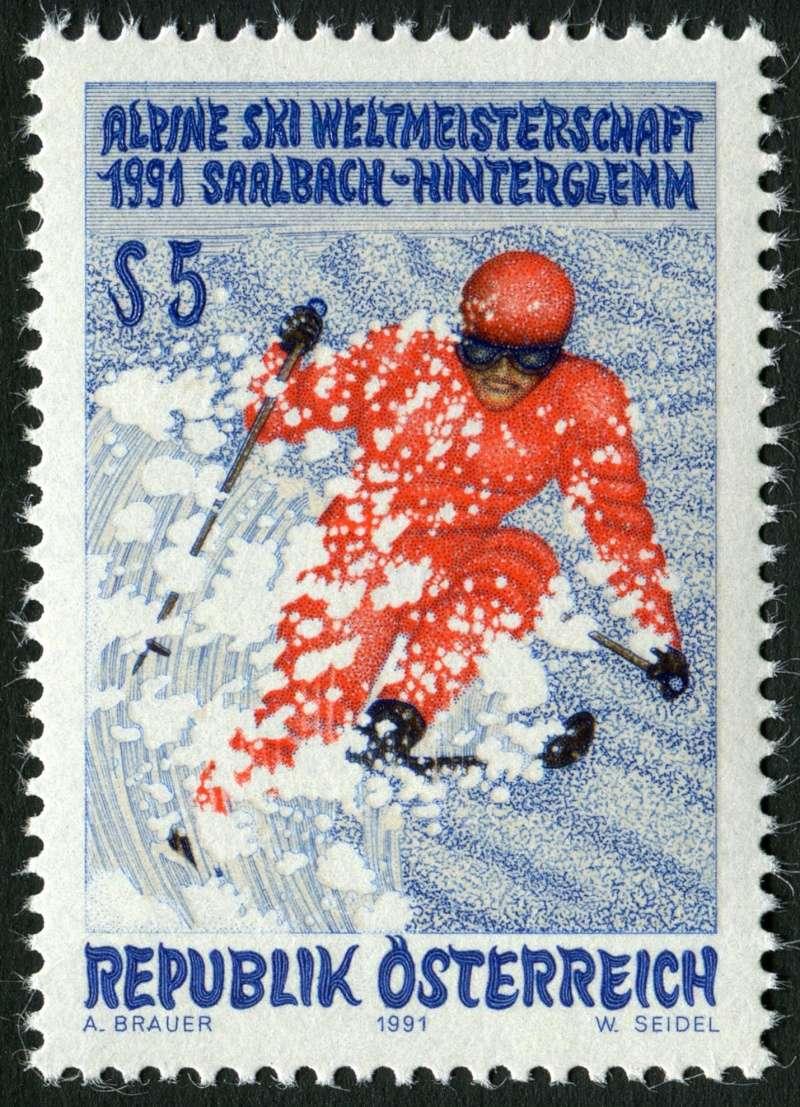 Die von der ÖSD verwendeten Druckpapiere für Österreichische Briefmarken  201411