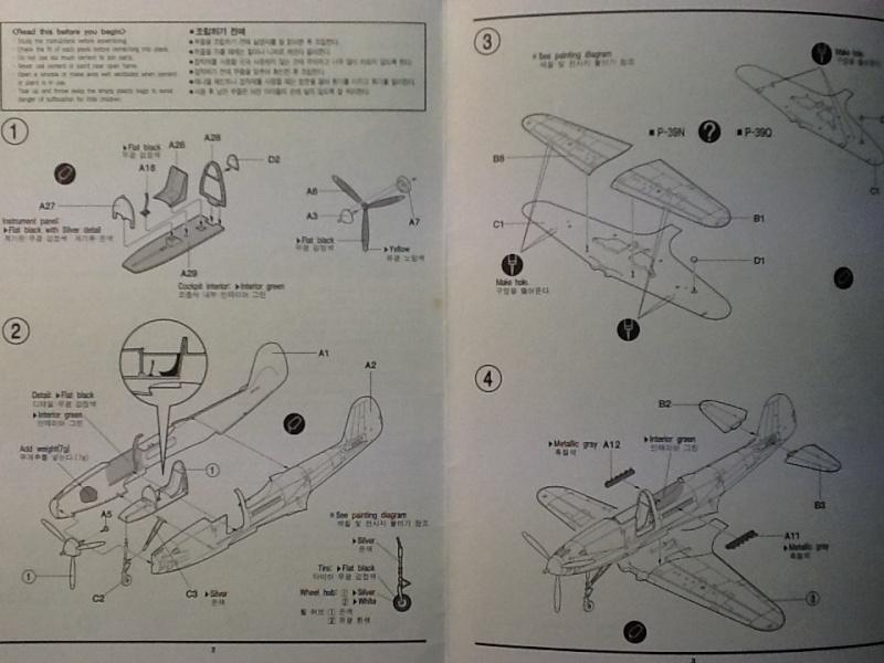 [ACADEMY] BELL P 39 Q/N 1/72ème Ref 2177 Academ22