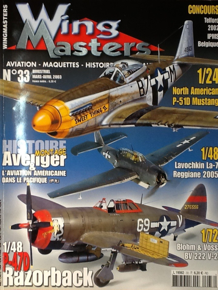 AIRFIX NORTH AMERICAN P 51 D MUSTANG 1/24ème Ref 14001 Airfi113