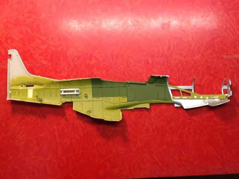 AIRFIX NORTH AMERICAN P 51 D MUSTANG 1/24ème Ref 14001 Airfi118